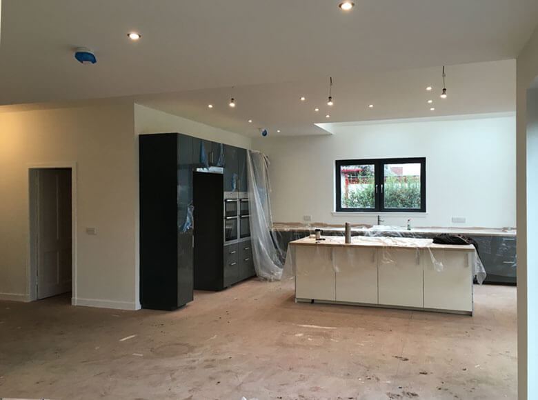 Fitted Kitchen nearing completion