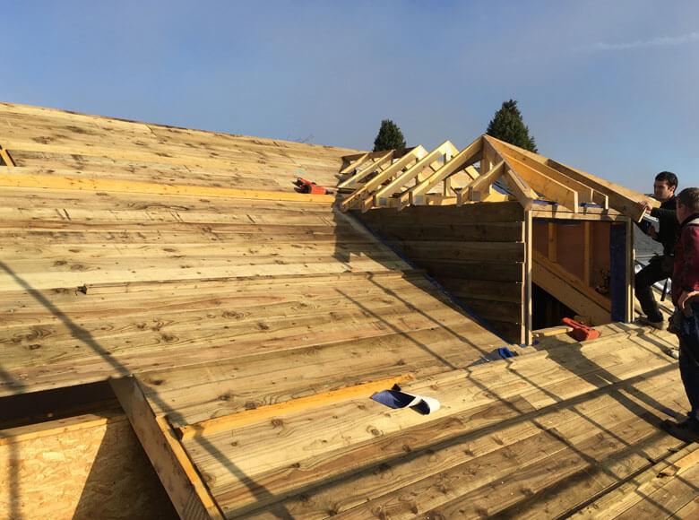 Bespoke Roof Installation