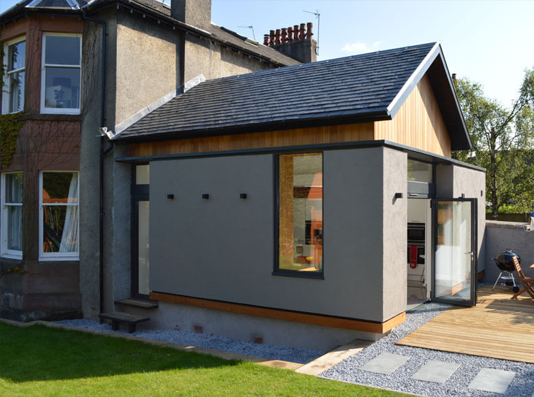 House Extension Rear View